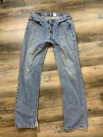 Levi's Men's 501 Original Fit Straight Leg Button Fly Jeans 34x34