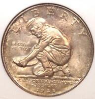 1925-S California Half Dollar Diamond Jubilee 50C - NGC MS67 - $3,500 Value!