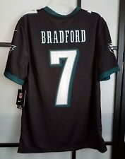 9c6b29118c0 Nike Philadelphia Eagles  7 Sam Bradford Black Color Rush Replica Jersey XXL