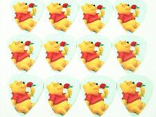 10pcs 1.0mm Winnie the Pooh guitar picks Plectrums Printed Both Sides