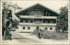 Autriche, Maison Tyrolienne, 1949, Vintage silver print Vintage silver print