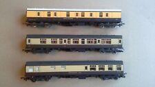 Lima GWR 00 gauge coaches x 3