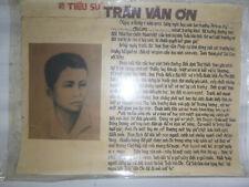 Tran Van On - Saigon Student - Vc Martyr Propaganda Poster - 1950 - Vietnam War