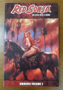 RED SONJA Omnibus Vol. 5 She-Devil with a Sword Dynamite TPB GN OOP NEW UNREAD