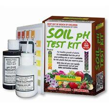 Manutec SOIL PH TEST KIT Simple accurate economical