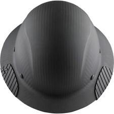 LIFT Safety HDFM-17KG DAX Carbon Fiber Hard Hat, Black Matte Full Rim, Class C