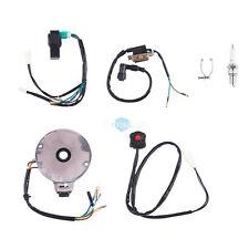 50 to 125CC Kick Start ATV Complete Wiring Harness CDI STATOR Ignition Electric