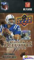 2008 UD Football Rookie Exclusives Factory Sealed Blaster Box-170 ROOKIES