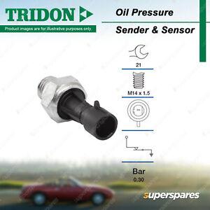 Tridon Oil Pressure Light Switch for Opel Astra Insignia 2.0L DOHC 16V