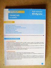Livre Français la synthèse BTS/DUT aide-mémoire /Y5