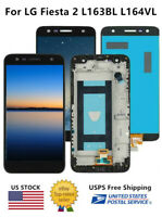 WOW For LG Fiesta 2 L163BL L164VL LCD Touch Screen Digitizer Replacement ±Frame