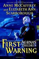 Acorna's Children: First Warning by Elizabeth Ann Scarborough and Anne McCaffrey (2005, Hardcover)