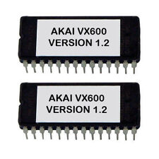 Akai VX-600 Final OS revision V1.2 eprom Latest OS VX600 Firmware Update Upgrade