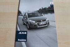107127) Suzuki SX4 - Preise & Extras - Prospekt 04/2011