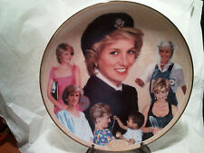 "Princess Diana Memorial Plate ~ By Danbury Mint ~ ""Diana ""Goodwill Ambassador"""