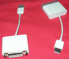 MacBook Air 2008 display port to DVI Adapter for Apple MacBook Air 2008 Model