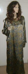 New Moroccan Dress Jilbab Kaftan Abaya M, L, XL, XXL dF