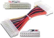 Lot10 24pin Power Supply Cable~20pin Motherboard Connector BTX/ATX Adapter$SHdis