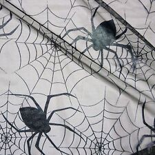 Black Tulle Spider web Net LRG Spiders Halloween Fabric