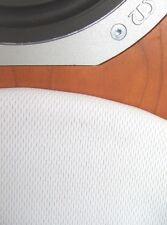 Pure White Speaker Grill Fabric  Cloth 1.00 Metre x 800mm. Refurbish Cabinets