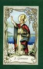 SANTINO SAN GENNARO IMAGE PIEUSE - HOLY CARD SANTINI