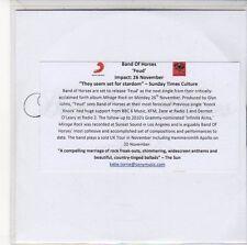 (EE84) Band Of Horses, Feud - 2012 DJ CD