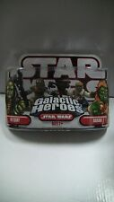 Star Wars Galactic Heroes Weequay and Barada Figure Pack Hasbro 2007 - NEW