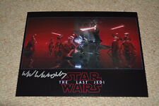 WILLIAM WILLOUGHBY signed autograph 8x10  In Person STAR WARS PRAETORIAN