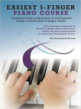 Easiest 5-Finger Piano Course, New, Christopher Hussey Book