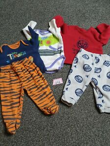 Baby Boys 3-6 Months Pyjamas Bundle (P216)