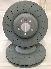 Genuine Mercedes-Benz W222 S-Class FRONT AMG Brake Discs A2224215100 X2