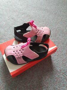 Girls Pink Nike Sunray Sandles. Size Infant 5