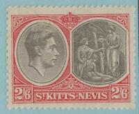 ST KITTS & NEVIS 87a MINT HINGED OG * NO FAULTS EXTRA FINE !