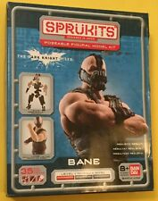 "BANE Batman SPRUKITS poseable figure model kit DC UNIVERSE 4"" DARK KNIGHT Bandai"