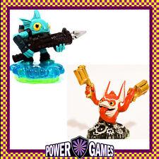 Skylanders Spyro's Adventure Trigger Happy Tech & Gill Grunt Water