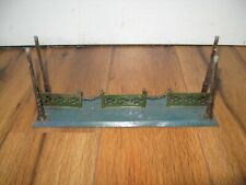 Antique Prewar German Krauss Fandor Station Tin Train Platform Rare Nice Canopy