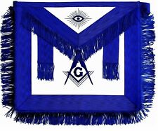 Masonic Regalia Master Mason BLUE APRON EMBROIDERED DMA-100BL