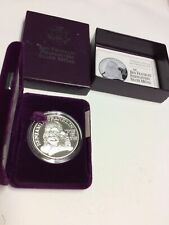 Proof Silver 1 Troy Ounce .999, Benjamin Firefighters Silver Medal!  (#10)