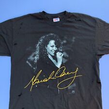 vintage 90s mariah carey unplugged tee shirt DRY ROT DISPLAY ONLY single stitch