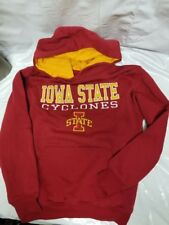 Iowa State Cyclones Stadium Athletic Youth XS Pullover Hoodie Red/Yellow warm