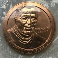 Charles M Schulz Peanuts Act of Congress 2000 Bronze Medal - In Original Package