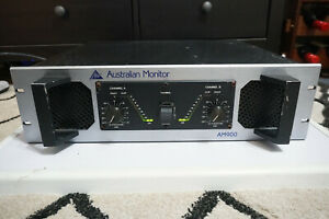 Australian Monitor AM900 Dual Channel Vintage PA Music Amplifier 1000W AU Made