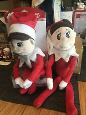 NEW  The Elf on the Shelf Plushee Pals ( set of 2)