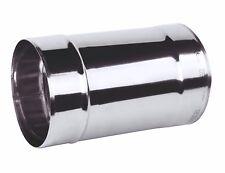 acciaio inox stufa tubo 125mm/12.7Cm lunghezza 250mm CAMINO CANNA FUMARIA Rigido
