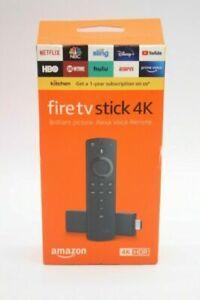 Amazon Fire TV Stick 4K Streaming Device with Alexa Voice Remote - Black