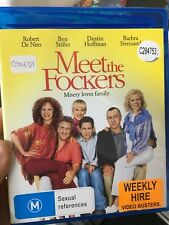 Meet The Fockers ex-rental BLU RAY (2004 Ben Stiller comedy movie)