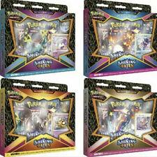 Pokémon Tcg: Shining Fates Mad Fiesta Pin colecciones Caja todas las cajas de 4