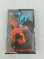 DAVID BOWIE LETS DANCE CASSETTE TAPE AUSTRALIA