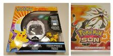 Nintendo 3DS Pokemon Sun Game & Pokemon Z-Ring With Crystals (2016)