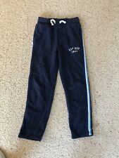 Boys GAP Track Bottoms Blue Size L 10 Years